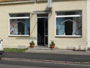 Eingang Friseurgeschäft